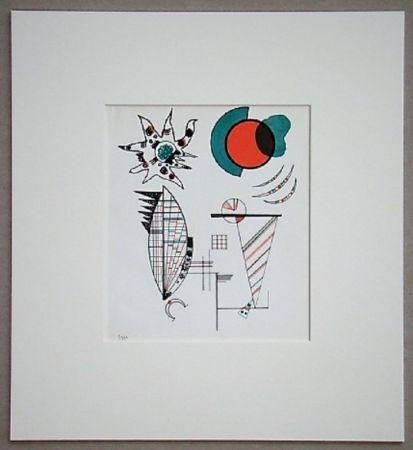Litografia Kandinsky - Composition, 1934