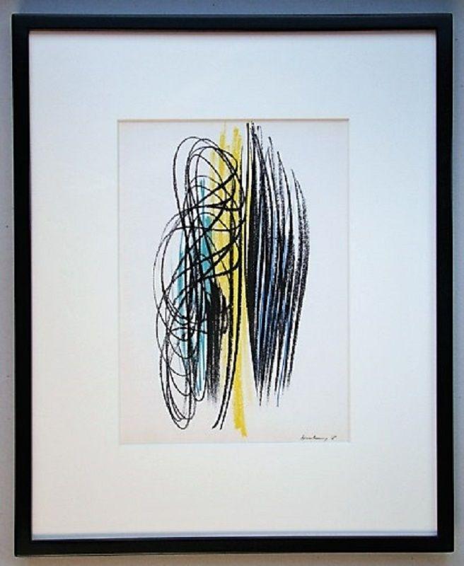 Litografia Hartung - Composition 1958