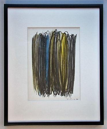 Litografia Hartung - Composition 1960