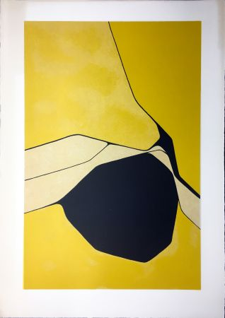 Litografia Palazuelo - Composition 1963
