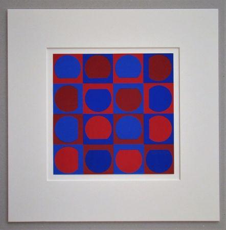 Serigrafia Vasarely - Composition 1964