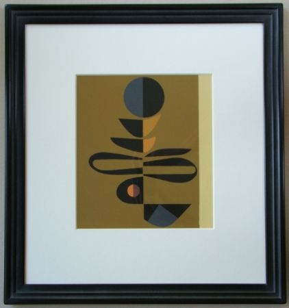 Serigrafia Pillet - Composition, 1967