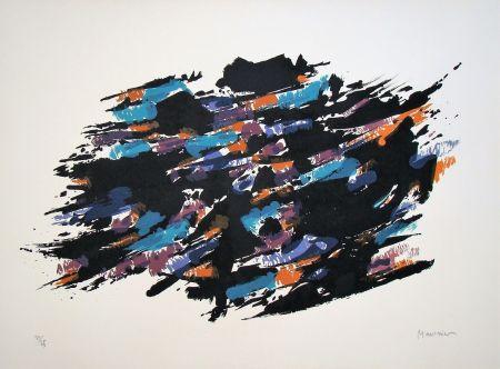 Litografia Manessier - Composition, 1971