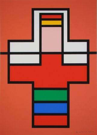 Serigrafia Vandenbranden - Composition, 1988