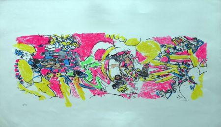 Litografia Matta - Composition 2