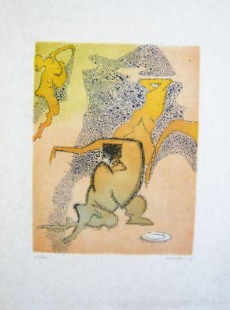 Acquaforte E Acquatinta Tanning - Composition 3