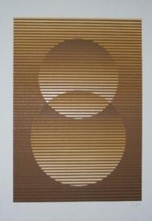Serigrafia Sempere - Composition 3