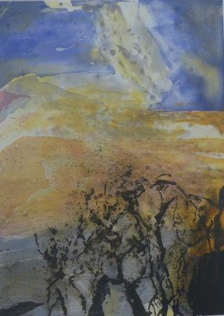 Acquaforte E Acquatinta Zao - Composition 340