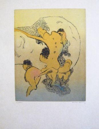 Acquaforte E Acquatinta Tanning - Composition 4
