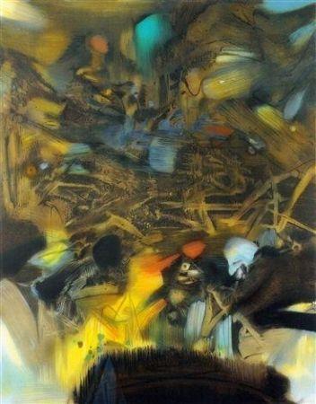 Litografia Chu Teh Chun  - Composition 6