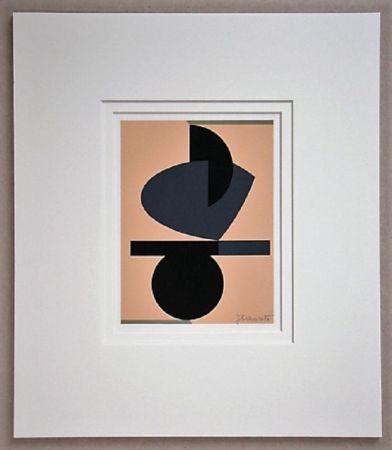 Serigrafia Rets - Composition Abstait