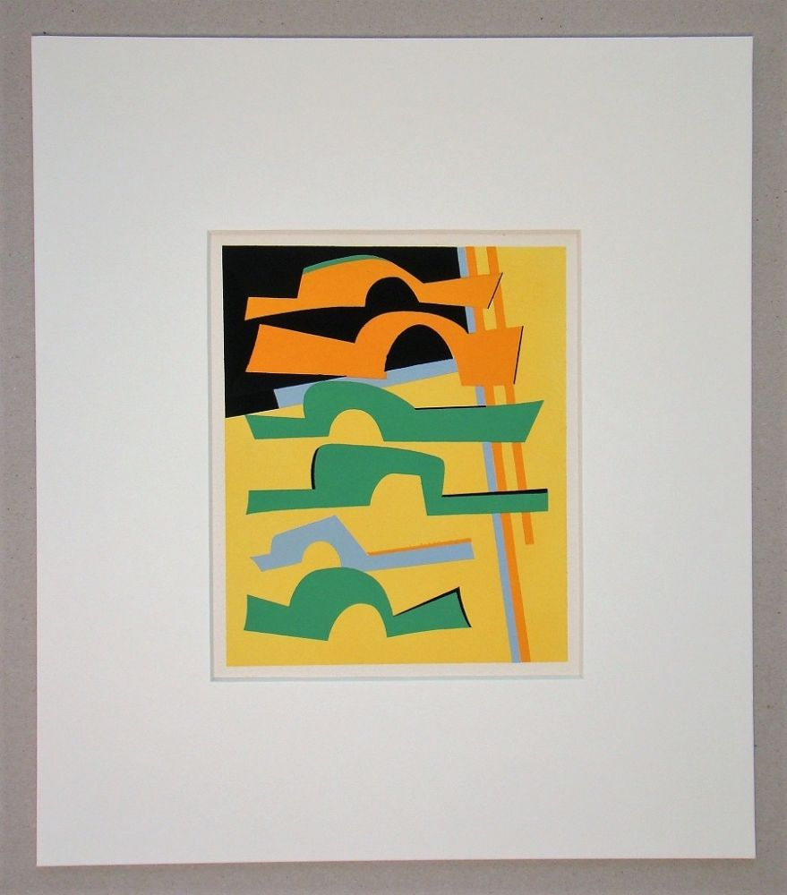 Serigrafia Magnelli -  Composition abstrait