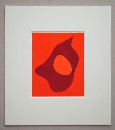 Pochoir Arp - Composition abstrait