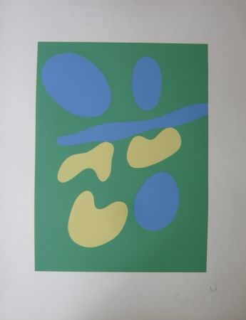 Serigrafia Arp - Composition abstraite