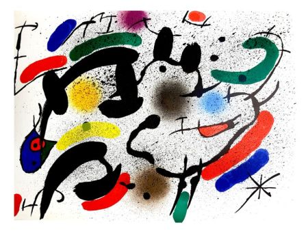 Litografia Miró - Composition Abstraite