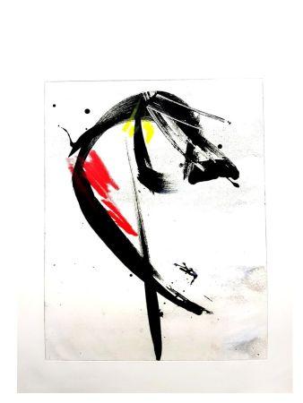 Litografia Miotte - Composition Abstraite