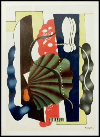 Litografia Léger (After) - COMPOSITION AU COQUILLAGE