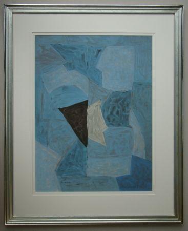 Litografia Poliakoff - Composition bleue