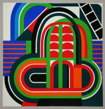 Offset Dewasne - Composition constructif, 1971