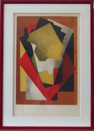 Acquaforte E Acquatinta Villon - Composition cubiste