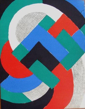 Litografia Delaunay - Composition du XXe Siecle