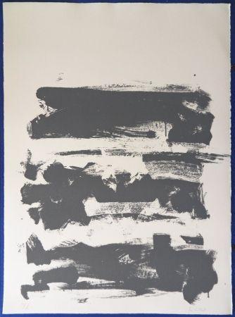 Litografia Mitchell - Composition en gris