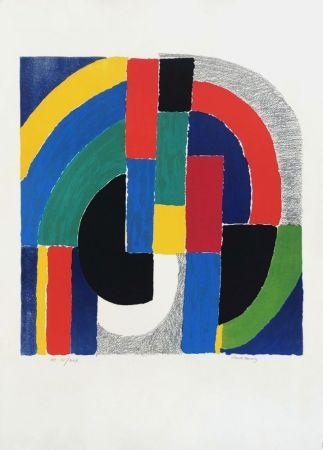 Litografia Delaunay - Composition géométrique