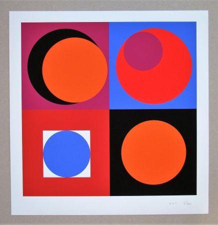 Serigrafia Claisse - Composition géométrique
