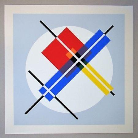 Serigrafia Gorin - Composition géométrique