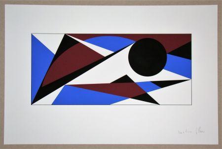 Serigrafia Claisse - Composition géométrique - sans titre