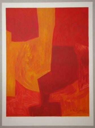 Litografia Poliakoff - Composition gouache 1969