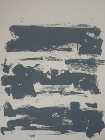 Litografia Mitchell - Composition grise