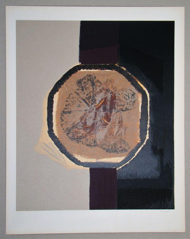 Serigrafia Piaubert - Composition I. - 1964