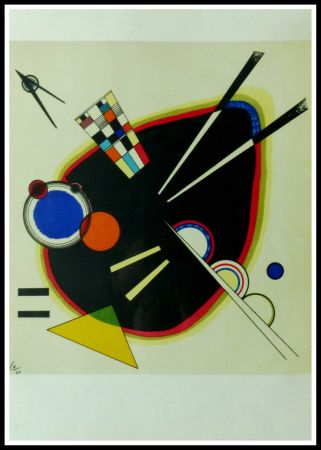 Litografia Kandinsky - COMPOSITION II