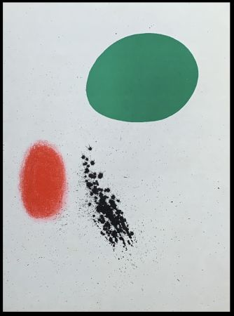 Litografia Miró (After) - Composition II