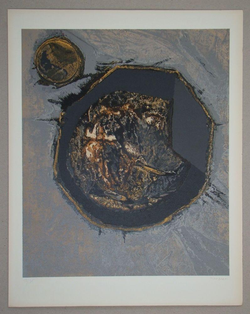 Serigrafia Piaubert - Composition II. - 1964