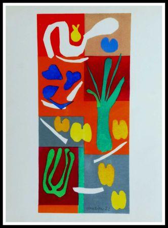 Litografia Matisse (After) - COMPOSITION MARINE