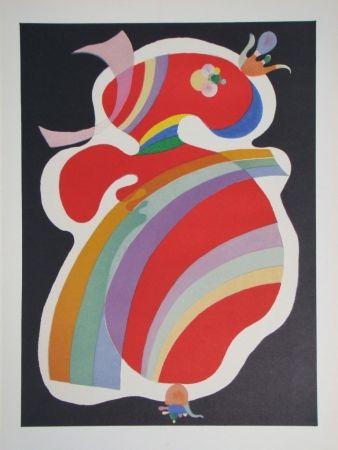 Litografia Kandinsky - Composition, période parisienne 1934-1944
