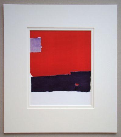 Pochoir De Stael - Composition Paysage