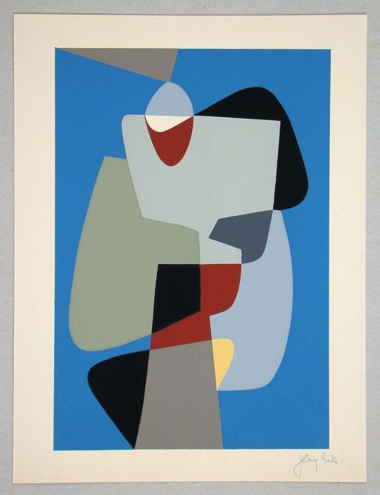 Serigrafia Rets - Composition pour Art Abstrait