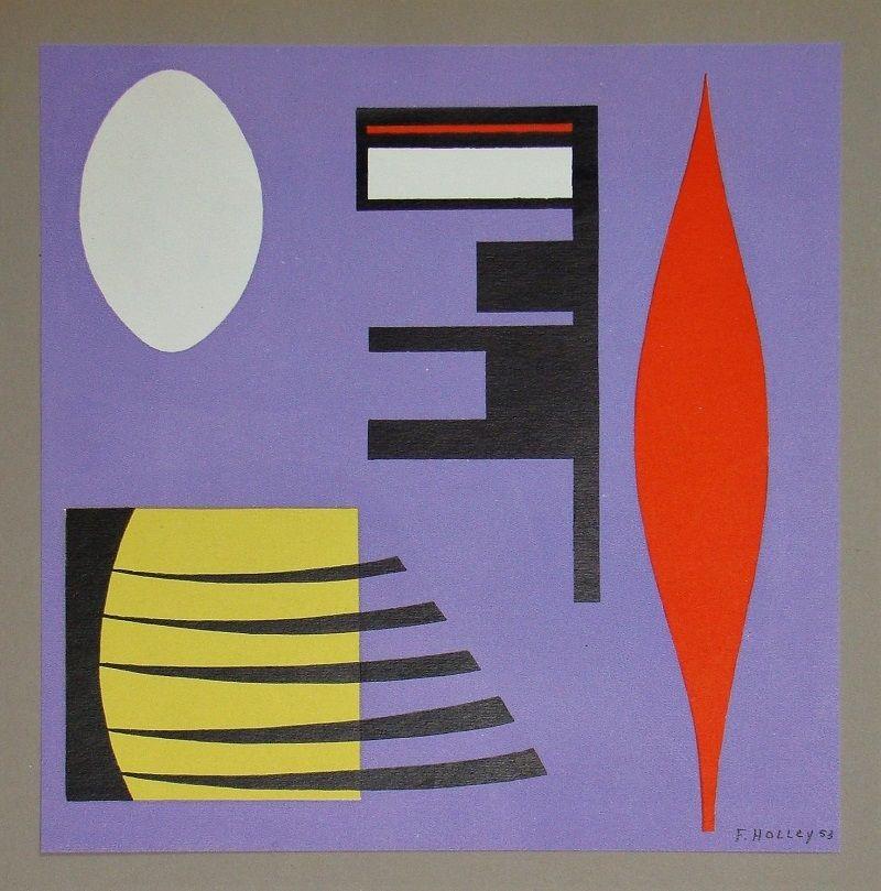 Litografia Holley - Composition pour Art Abstrait