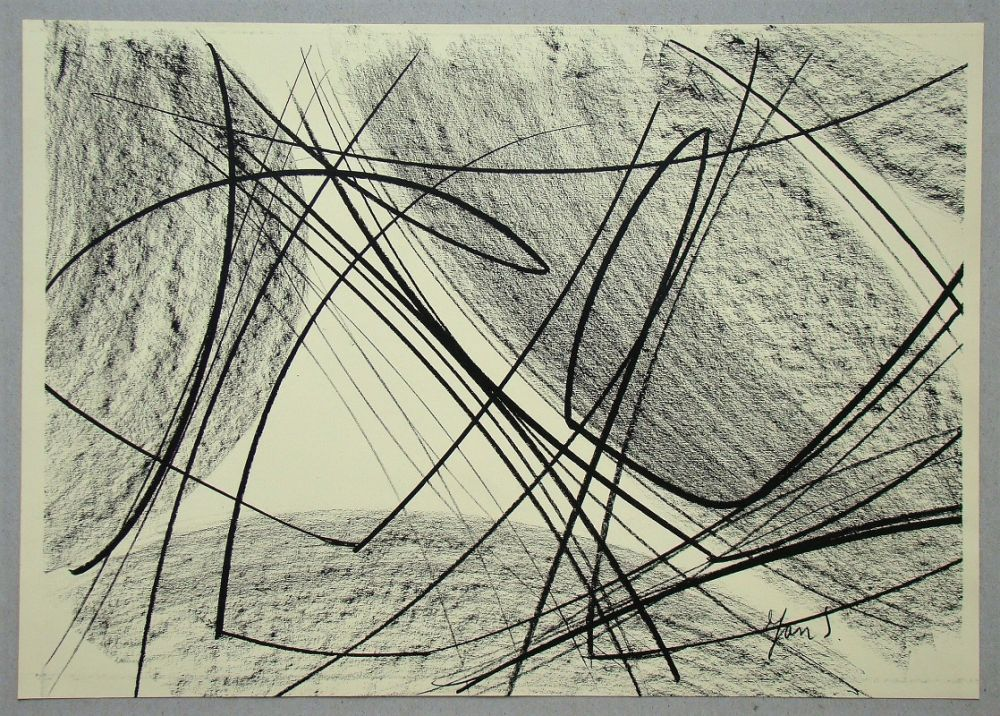 Litografia Saverys - Composition pour Art Abstrait