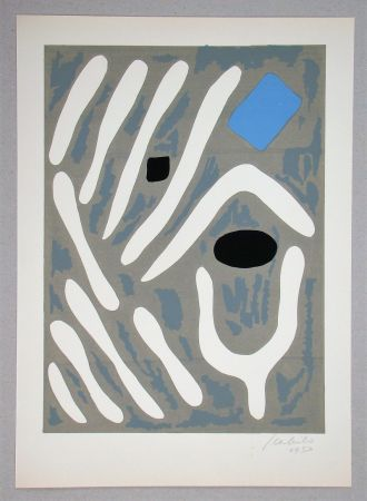 Litografia Milo - Composition pour Art Abstrait
