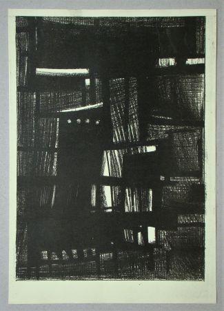 Litografia Burssens - Composition pour Art Abstrait