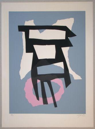 Serigrafia Jacobsen - Composition pour Le Fer et le Feu