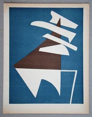 Litografia Magnelli - Composition pour XXe Siècle
