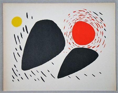 Litografia Calder - Composition Pour Xxe Siècle