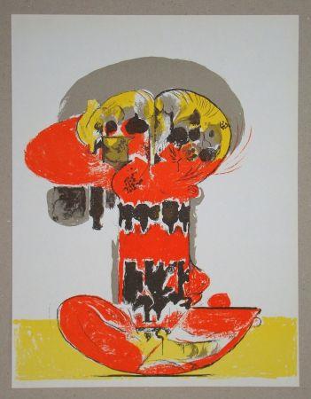 Litografia Sutherland - Composition pour XXe Siècle