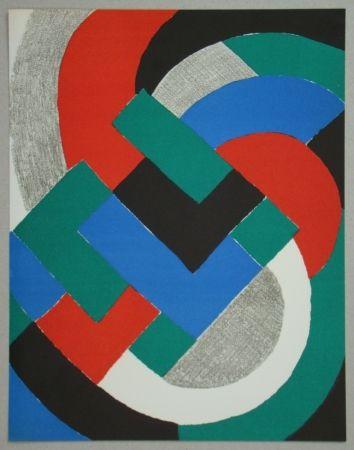 Litografia Delaunay - Composition pour XXe Siècle, 1969