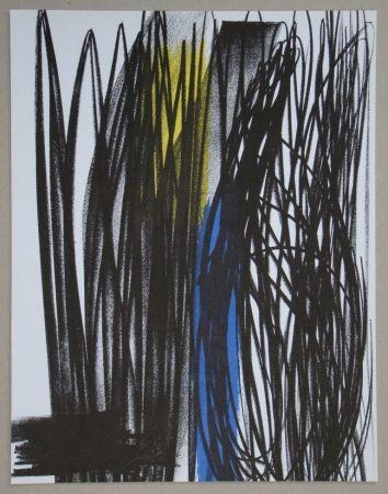Litografia Hartung - Composition pour XXe Siècle, 1973